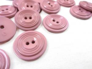 K017 Knapp 23 mm rosa