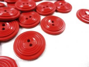 K017 Knapp 23 mm röd