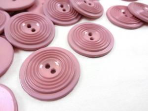 K017 Knapp 30 mm rosa