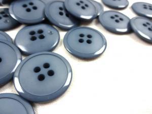 K020 Knapp 23 mm blågrå