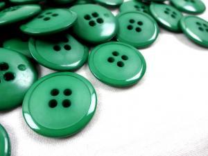 K020 Knapp 23 mm grön