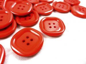 K024 Knapp 23 mm röd