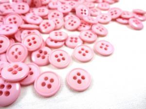 K037 Knapp 13 mm rosa