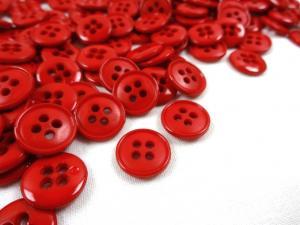 K037 Knapp 13 mm röd