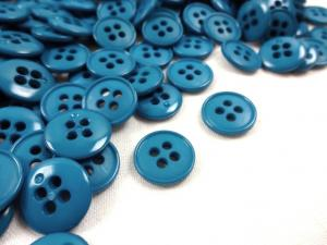 K037 Knapp 13 mm blå