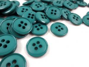 K037 Knapp 15 mm grön