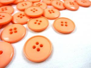 K037 Knapp 23 mm aprikos
