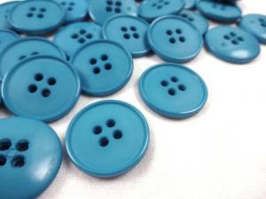 K037 Knapp 23 mm blå
