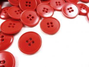 K110 Knapp 18 mm röd