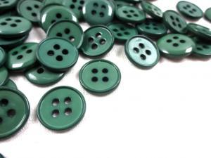 K116 Knapp 14 mm grön