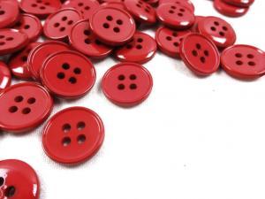 K116 Knapp 15 mm röd