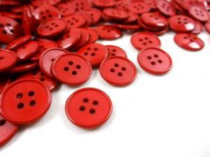 K118 Knapp 14 mm röd
