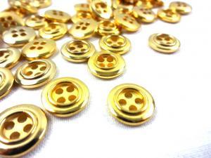 K140 Knapp 12 mm guld