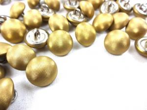 K302 Knapp metall 14 mm guld