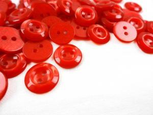 K329 Knapp 11 mm röd