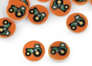 K349 Knapp Traktor 15 mm orange