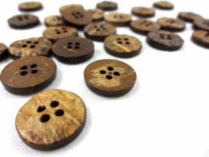 K801 Coconut Button 15 mm