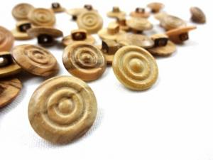 K802 Wood Button 15 mm
