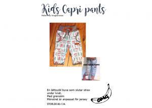 Kids Capri Pants  - OMG Bananas
