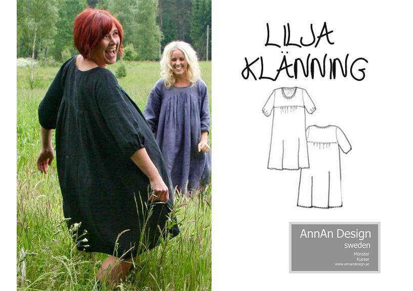 Lilja klänning - AnnAn Design