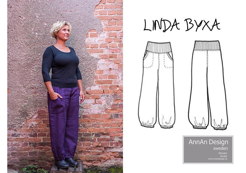 Linda byxa - AnnAn Design