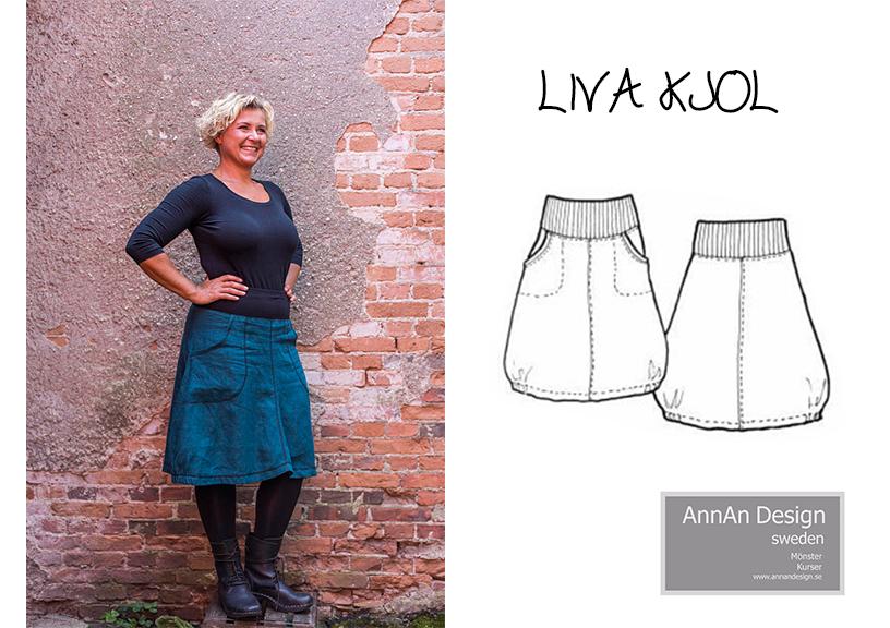 Liva kjol - AnnAn Design
