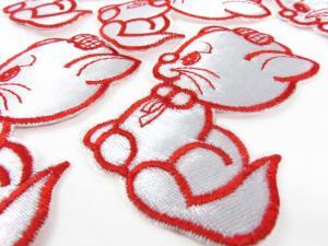 M150 Tygmärke katt röd