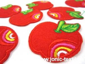 M172 Tygmärke äpple röd