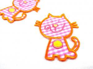 M217 Tygmärke katt rosa