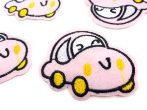 M302 Tygmärke bil rosa