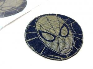 M322 Iron-On Patch Spider-Man jeans