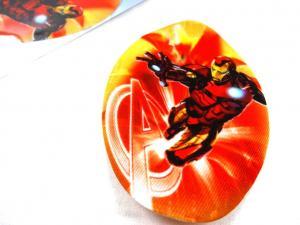 M326 Tygmärke Iron Man oval