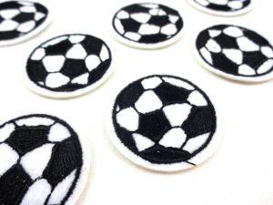 M349 Tygmärke Fotboll vit/svart