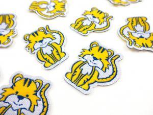 M366 Tygmärke Tiger gul
