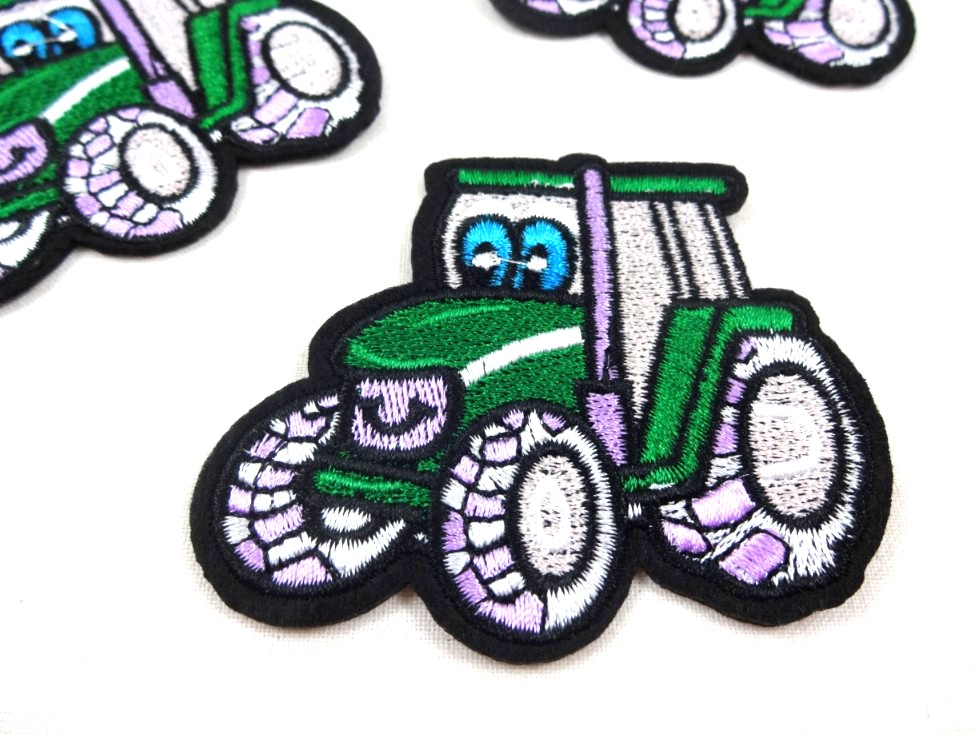 M372 Tygmärke Traktor grön