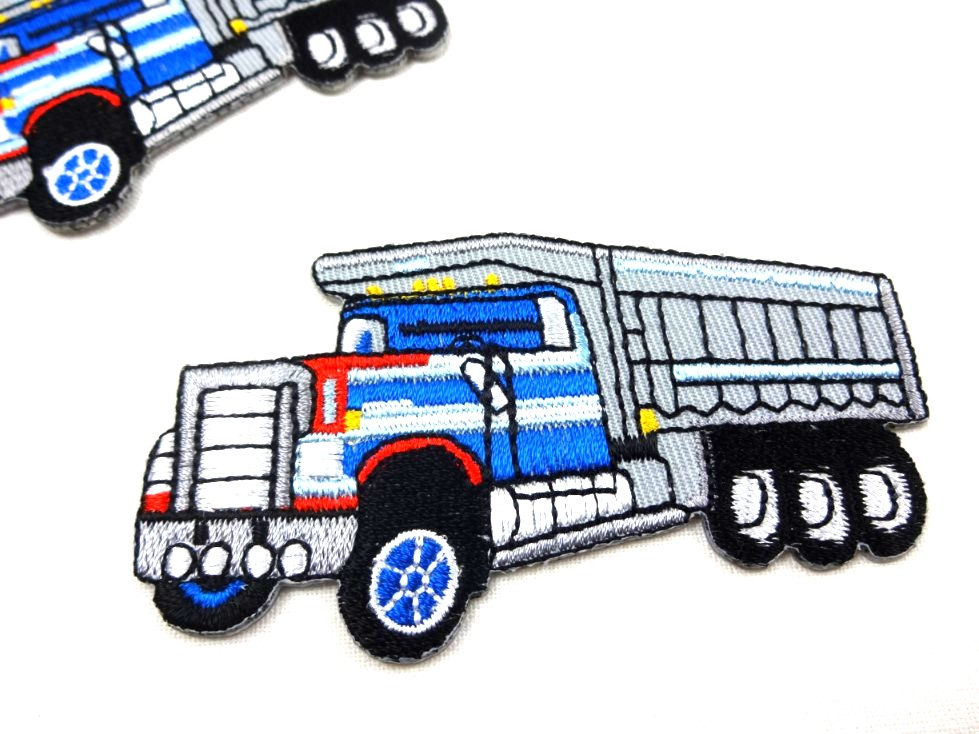 M383 Tygmärke Lastbil blå