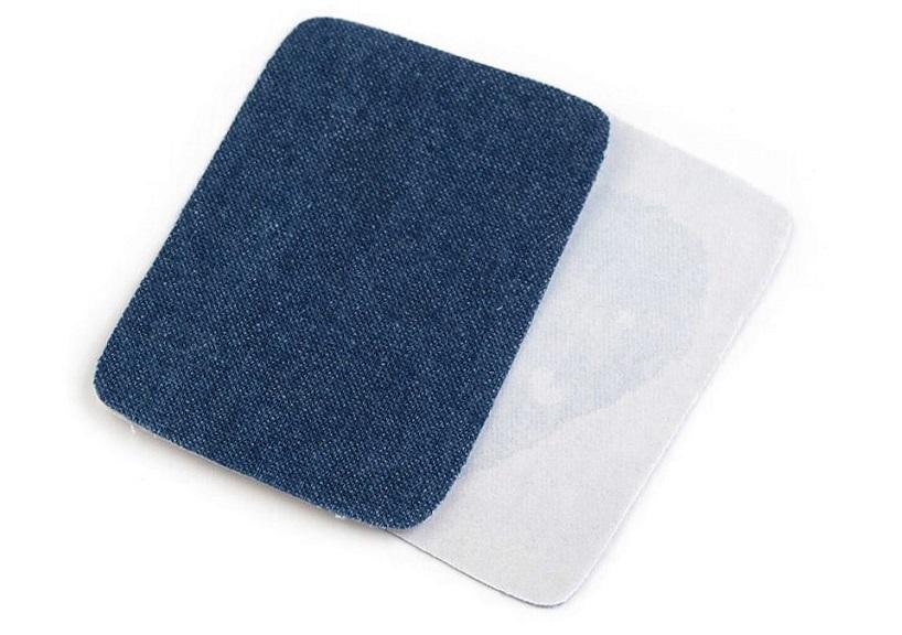 M388 Laglapp jeans mellanblå