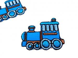 M393 Tygmärke Tåg blå