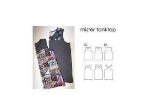 Mister Tanktop - Sewingheartdesign
