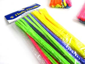 N1010 Pipe Cleaners 7 mm neon (50 pcs)
