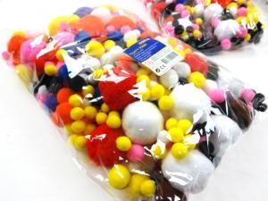 N1015 Pom Pom mix (525 pcs)