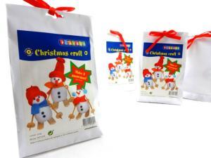 N1018 Christmas Craft Kit - Large Snowmen