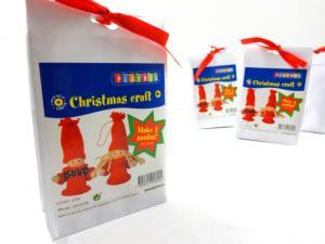 N1019 Christmas Craft Kit - Small Santas