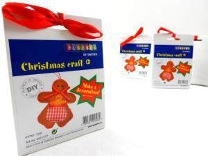 N1019 Christmas Craft Kit - Gingerbread