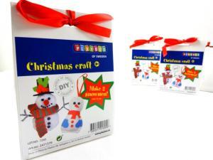 N1019 Christmas Craft Kit - Small Snowmen