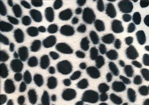 Velboa Fabric dalmatian