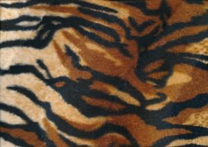 Velboa Fabric tiger