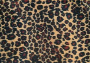 Velboa Fabric leopard