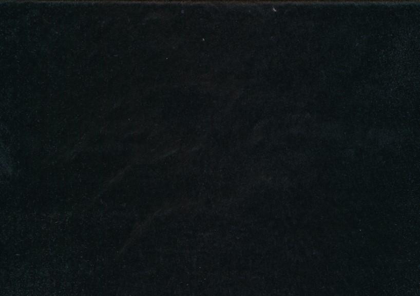 Fuskpäls svart
