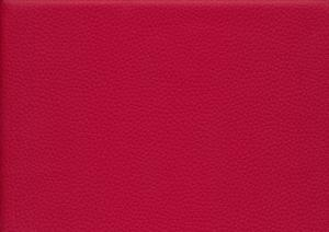 P121 Faux Leather red